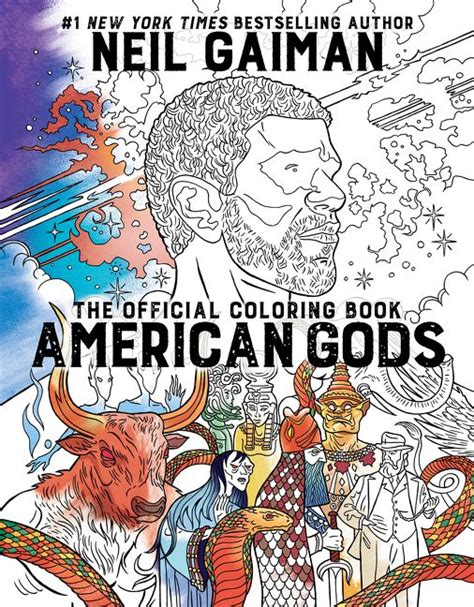 touched the official coloring book books american gods the official coloring book neil gaiman