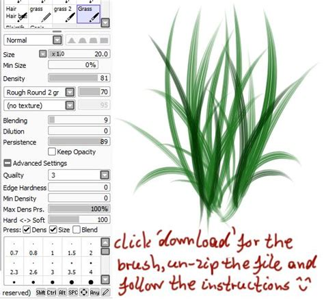 wacom tutorial paint tool sai 17 best images about sai sets on