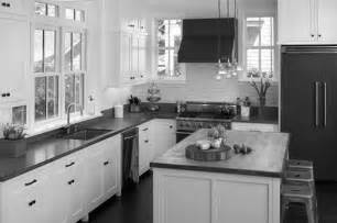 Black And White Kitchens Designs by Grey White Black Kitchen Kitchen And Decor