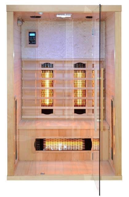 doccia sauna infrarossi sauna infrarosso per 2 persone quot c02 quot 120x110cm