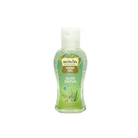 mustika ratu hand gel zaitun antiseptic sanitizer ml
