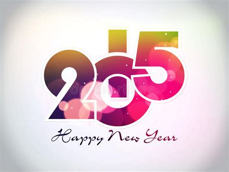 creative happy new year texts creative happy new year 2015 background stock vector image 44741046