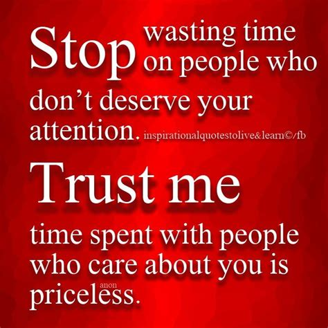Time Waster Time by Stop Wasting Time Quotes Quotesgram