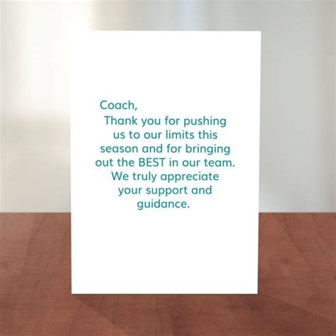 thank you soccer coach greeting card zazzle