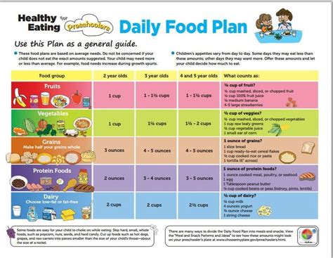 My Daily Food Plan Worksheet by My Daily Food Plan Worksheet Worksheets For School