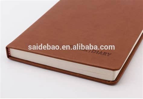 Custom Note Book A5 1 refillable leather notebook cover a5 leather bound