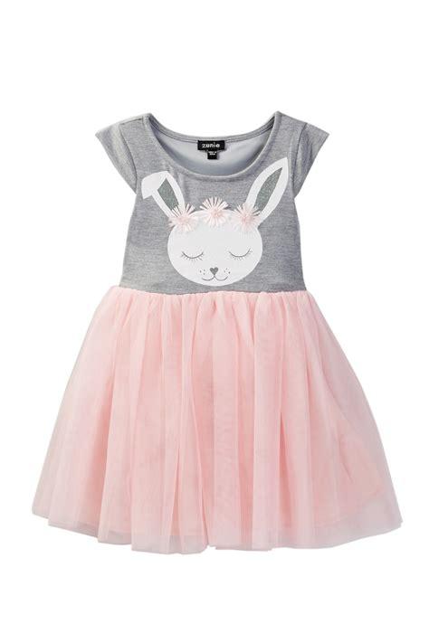 Dress Bunny zunie sleeve bunny dress toddler