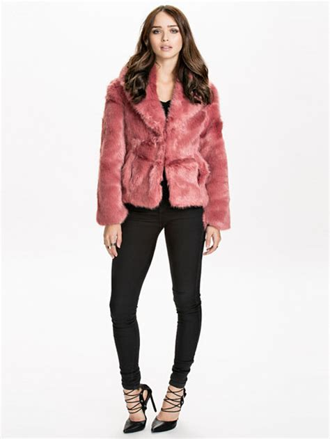 Miss Selfridge Cropped Parka by Cropped Fur Coat Miss Selfridge Pink Jackets And