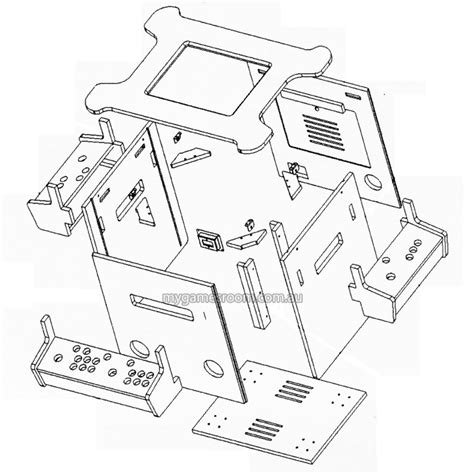 cocktail arcade cabinet plans cocktail pro flat pack cabinet my games room