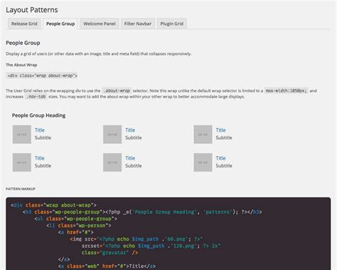 pattern library github github 0averyan patterns pattern library for wordpress