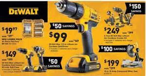 dewalt combo kit black friday lowes black friday 2014 tool deals
