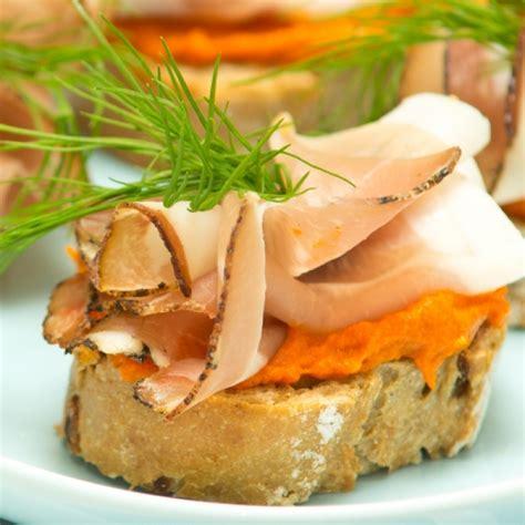 ham canapes ham and potato hummus canapes recipe