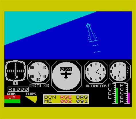 emuparadise zx spectrum flight simulation 1982 psion rom