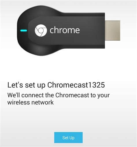 chromecast setup android how to setup chromecast using your phone or tablet