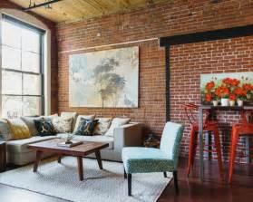 brick loft brick wall loft home design ideas pictures remodel and decor