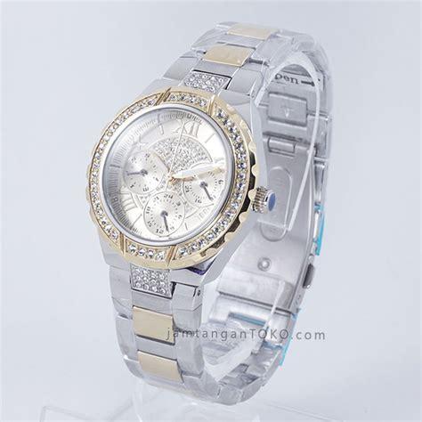 Jam Tangan Guess 2009 Combi Gold harga sarap jam tangan guess w0111l5 silver gold combi
