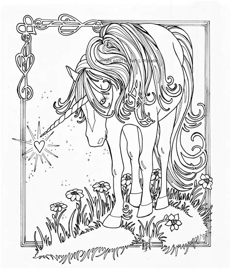 Unicorn Coloring Pages For Adults free coloring pages of unicorn