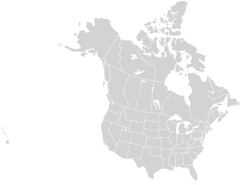 map of usa and canada with states and cities file blankmap usa states canada provinces svg wikimedia