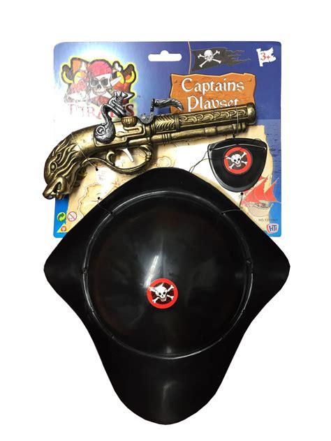Gun Pistol Set pirate hat and pistol set