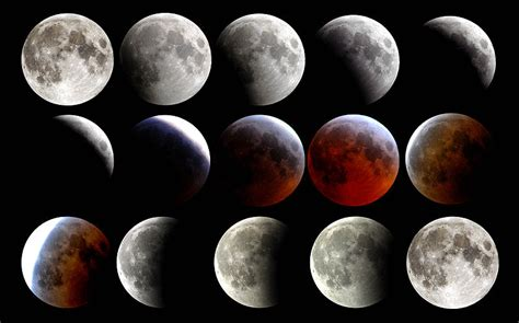 The Moon Looked why a totally eclipsed moon looks space earthsky