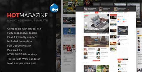 Magazine Drupal 8 Themes Free Premium Templates Free Drupal 8 Templates