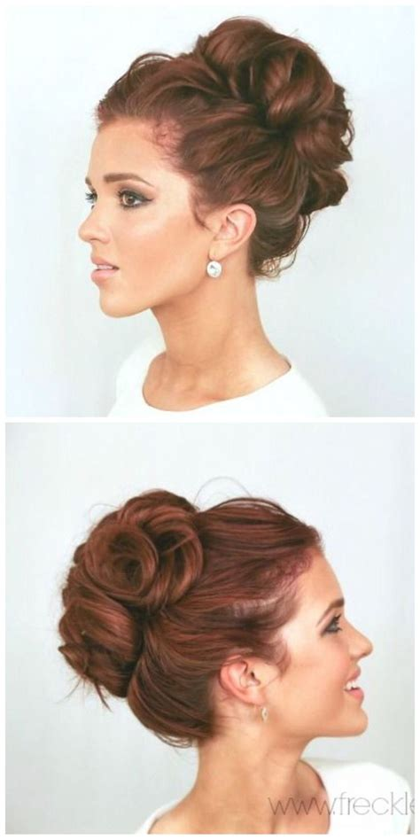 high bun updo wedding best 25 high updo ideas on pinterest
