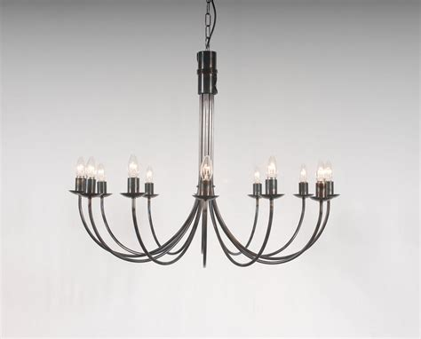 Iron Candle Chandelier The Belton 12 Arm Wrought Iron Candle Chandelier