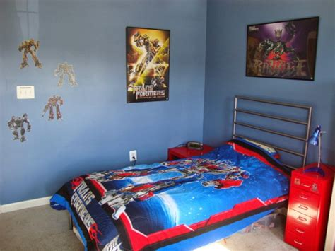 transformers bedroom decor themed kids bedroom design superhero nunudesign