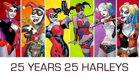 harley quinn a celebration of 25 years the batman universe 25 years of harley quinn