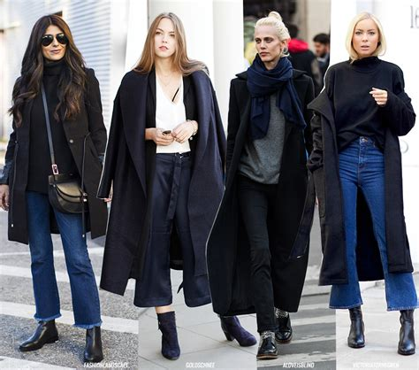 minimalistic look the minimal coat look blue is in fashion this year