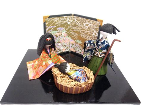 Handmade Japanese - nativity set small set made in japan handmade japanese
