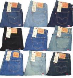 levis 505 mens regular fit leg many sizes