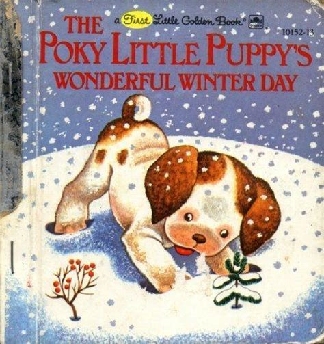 puppy day big golden book books the poky puppy s wonderful winter day a