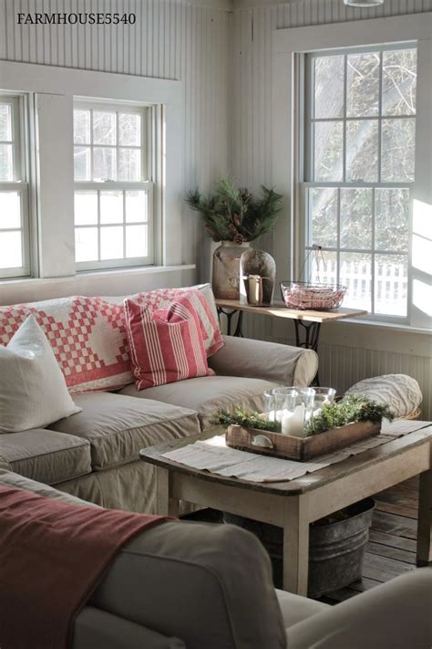 cottage living rooms farmhouse 5540 merry christmas farmhouse5540 our farmhouse pinterest window coffee and