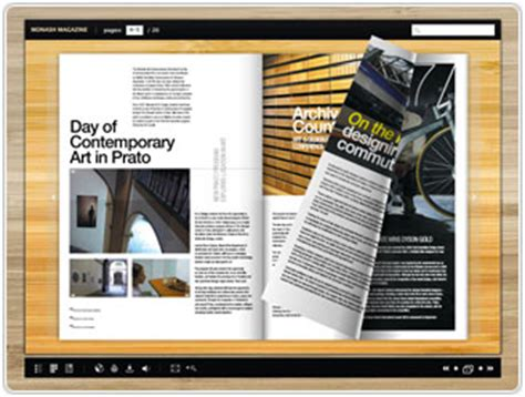 digital magazine digital publishing software flippingbook offers options