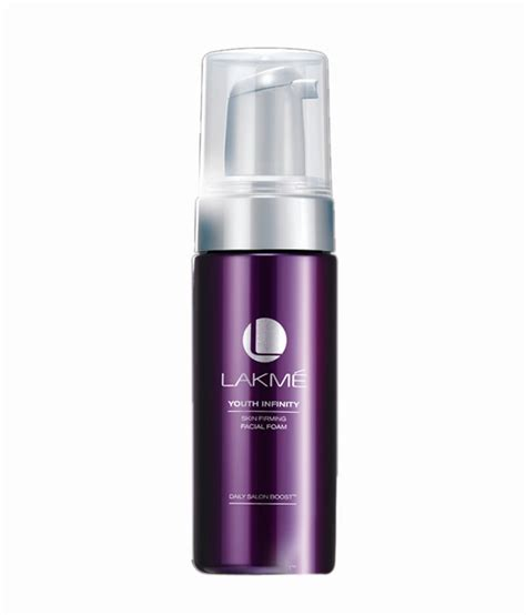 Lakm Youth Infinity Range Products Price List | lakme youth infinity facial foam 130ml buy lakme youth
