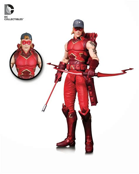 arsenal dc dc collectibles reveals new 52 red robin and arsenal figures