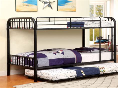 black trundle bed black trundle 3 beds bunk bed
