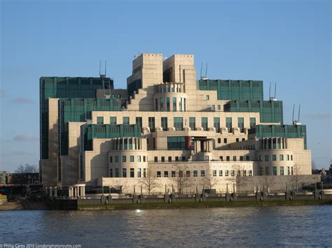 Modern Buildings Government Building Mi6 London Photo Areas And Routes