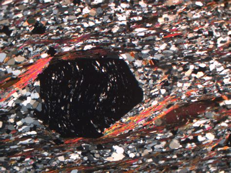 metamorphic textures thin section peridotite and shear zones and matlab oh my thin