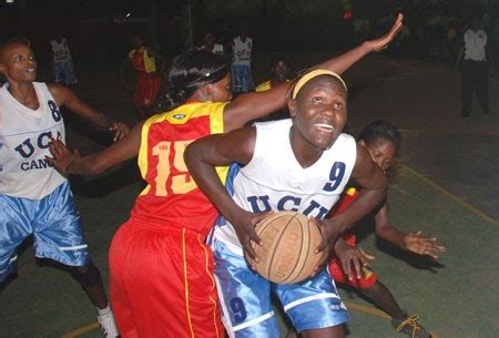 Does Peace Proscovia An Mba From Ucu by Basketball In Africa December 2011