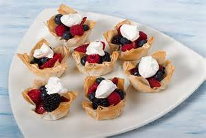 dessert cups with fresh fruit kidney friendly recipes