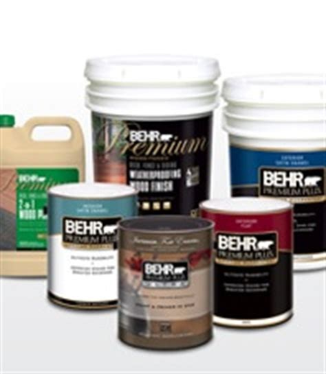 behr paint rebate 5 one gallon or 20 5 gallon pail southern savers