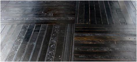 modular flooring from recycled leather belts freshome