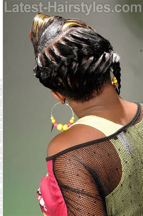 black hairstyles ridges crazy hairstyles dare to wear these 16 crazy hairstyles