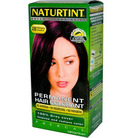 naturtint color naturtint permanent hair colorant 4m mahogany chestnut