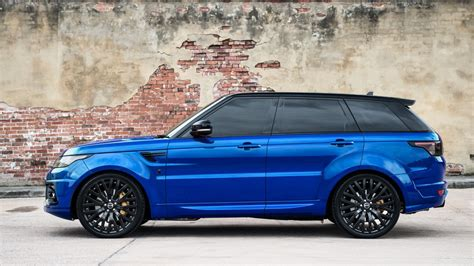 range rover sport blue the project kahn imperial blue range rover sport rs is a