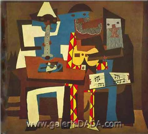 picasso paintings three musicians pablo picasso three musicians painting on the wall