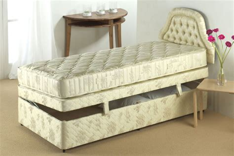 cheap single ottoman beds bedworld discount pennine sidelift ottoman divan bed