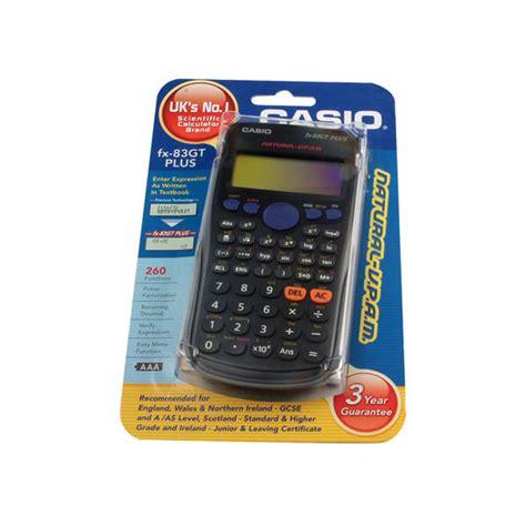 Calculator Fx 3650 Casio Scientific casio scientific calculator black 260 functions fx 83gtplus